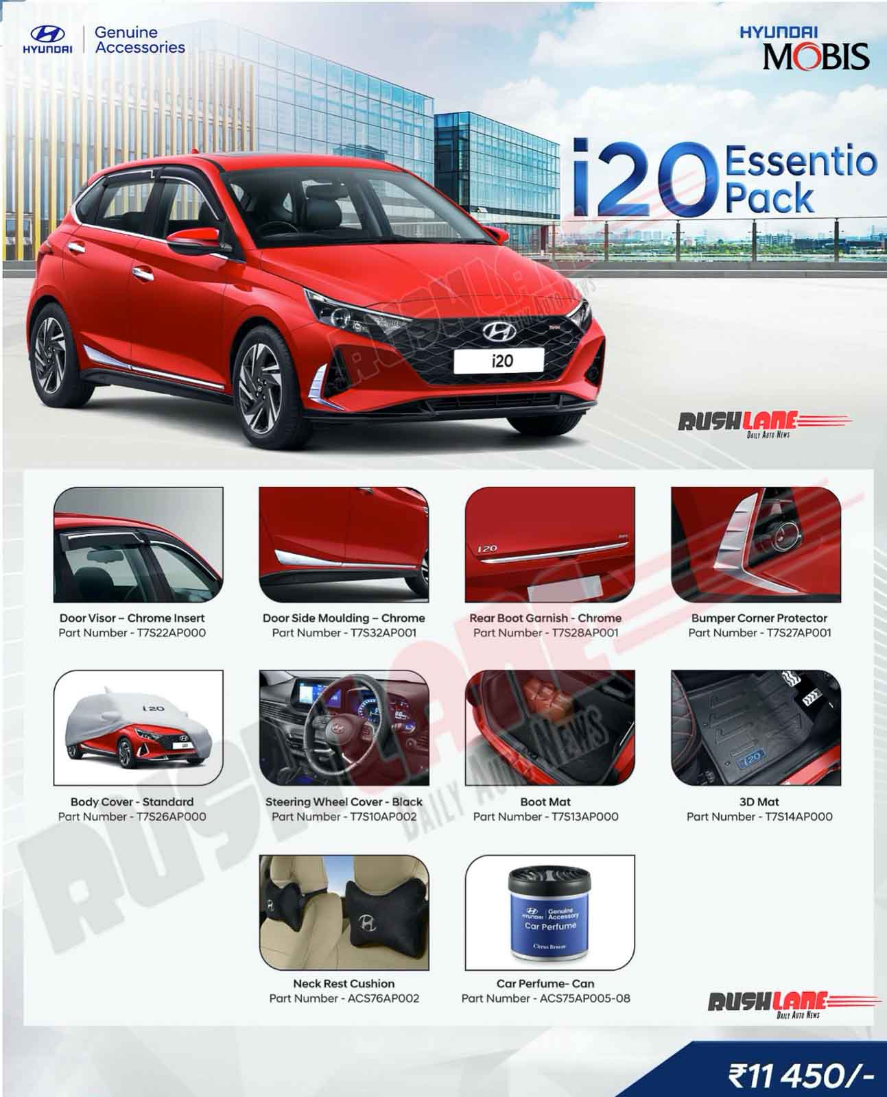 Hyundai i20 Essentio Accessory Pack