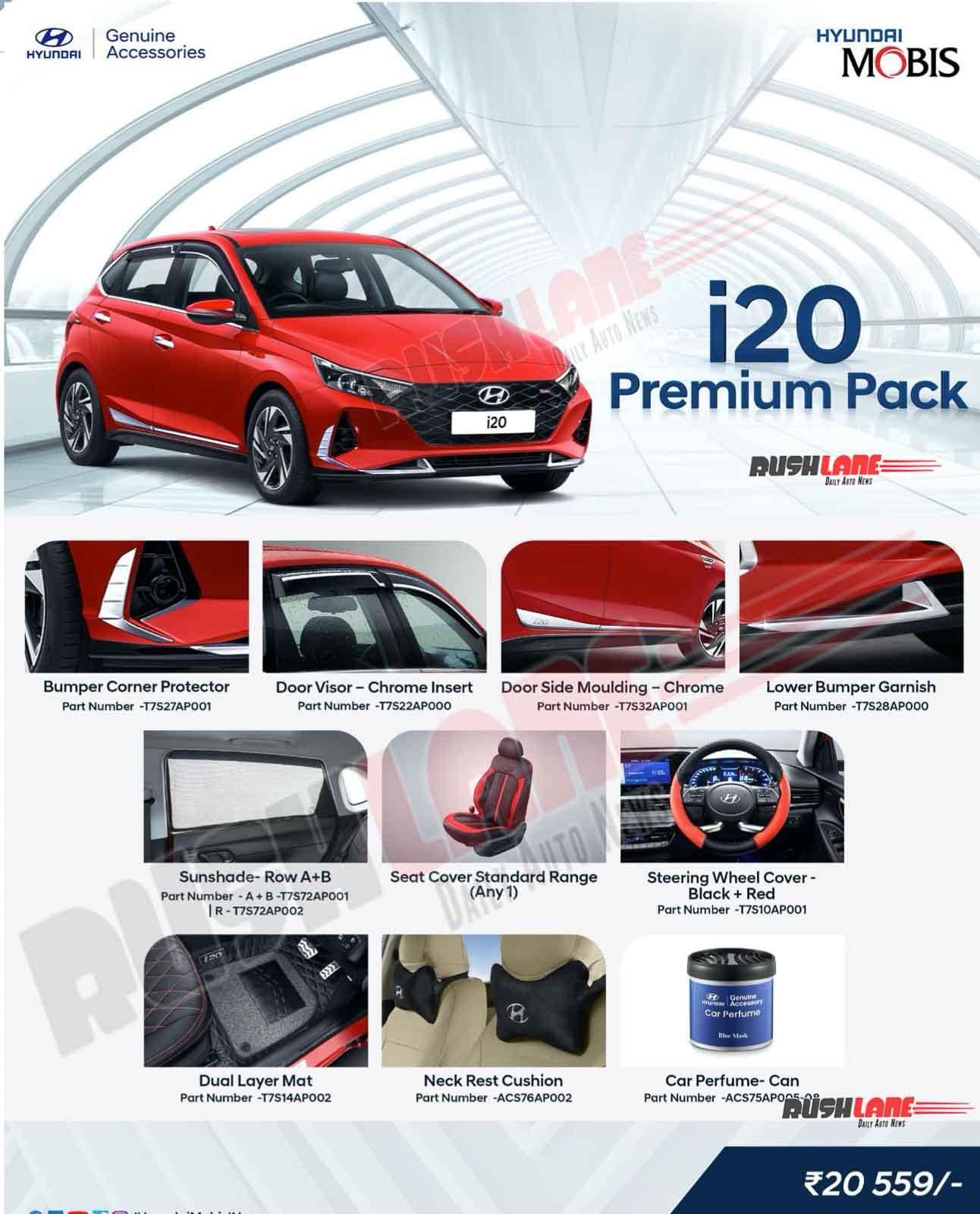 Hyundai i20 Premium Accessory Pack