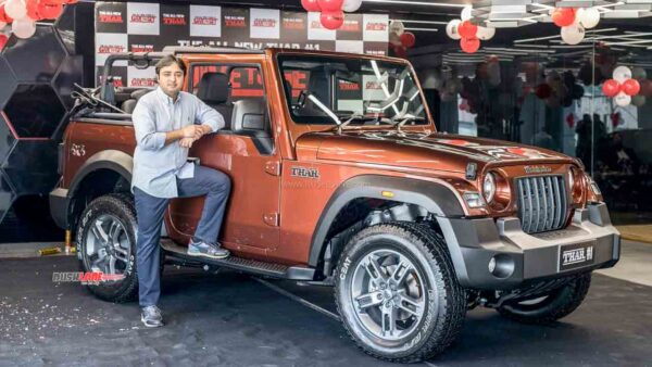 2020 Mahindra Thar Delivery Starts Officially