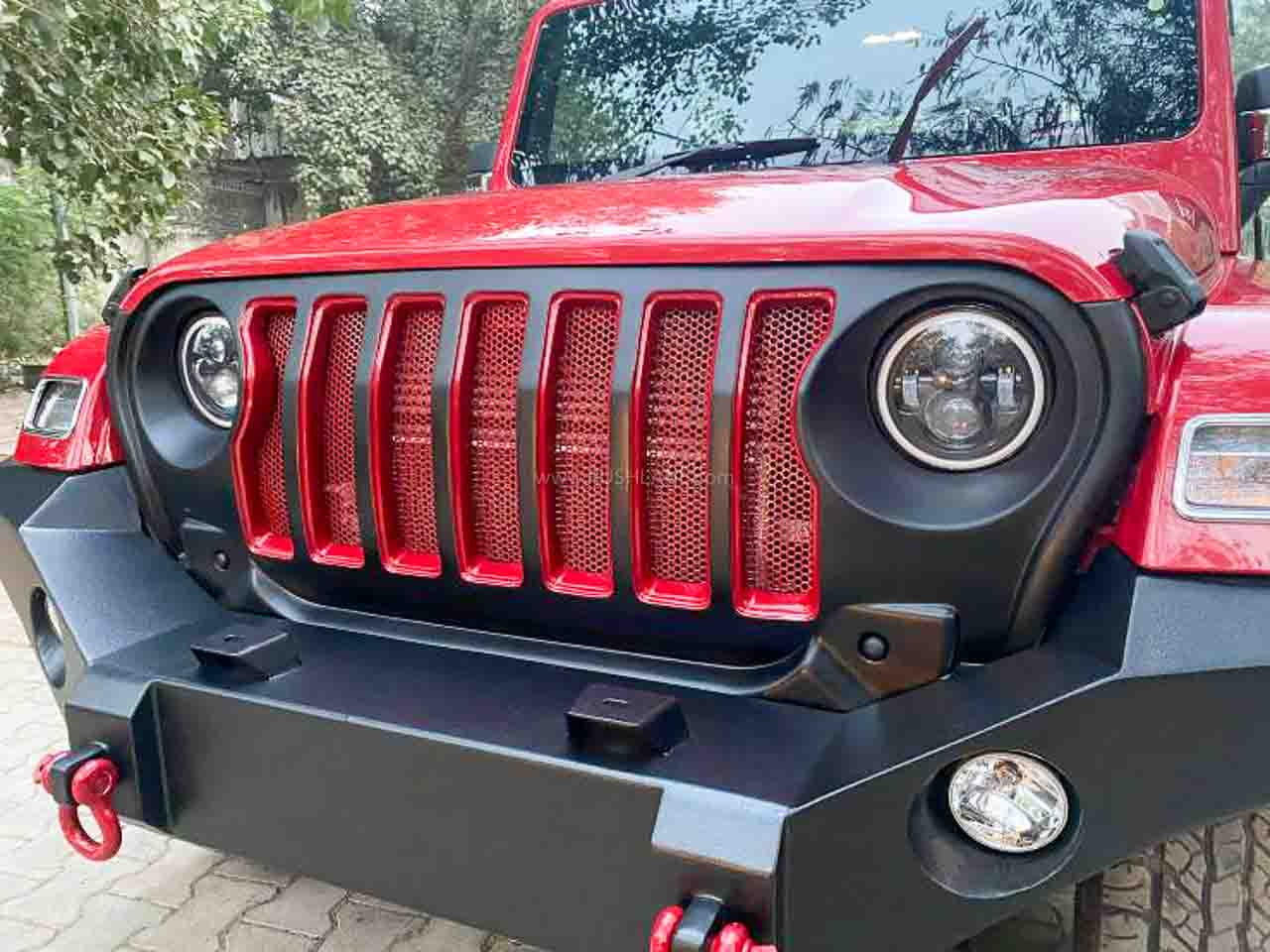 2020 Mahindra Thar Modified With Aftermarket Accessories Exteriors Interiors
