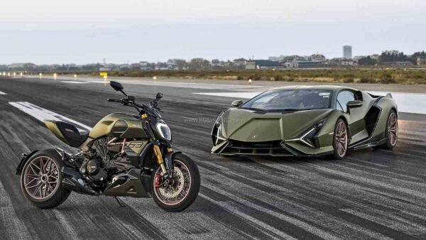 Ducati Diavel Lamborghini Edition