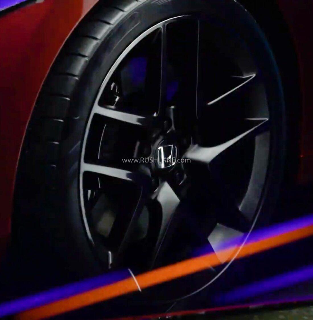 2021 Honda Civic Teaser Black Alloys