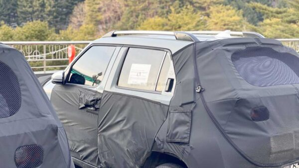 Hyundai AX1 Micro Crossover spied