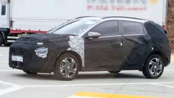 Hyundai Bayon Spied