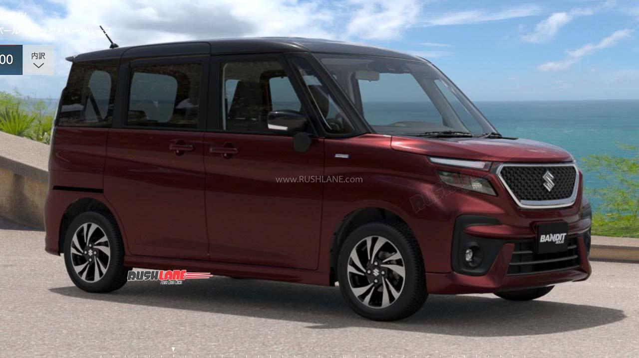2021 Suzuki Solio Bandit Hybrid