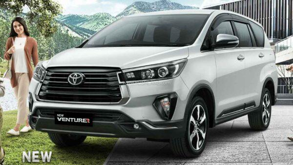 New Toyota Innova Facelift