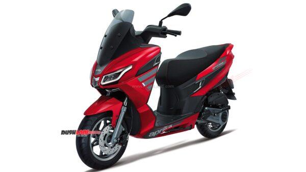 2021 Aprilia SXR 160