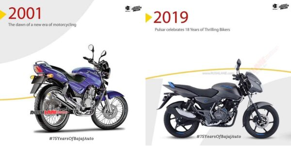 First Bajaj Pulsar With the Latest Pulsar
