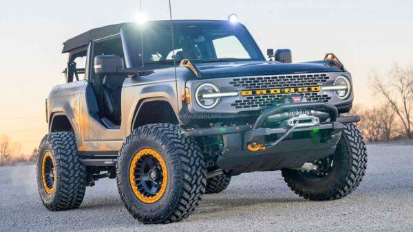 2021 Ford Bronco Modified Concept