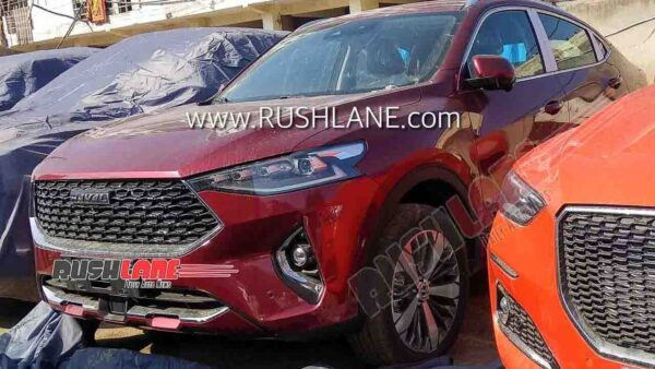 Haval SUV spied in Gurgaon