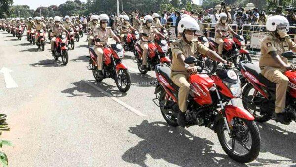 Hero Glamour for Karnataka Police