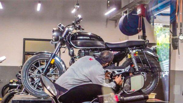 Honda CB350 First Service Cost