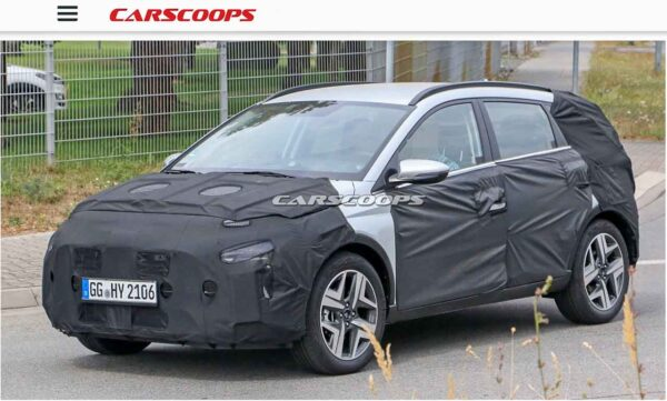 2021 Hyundai Bayon Crossover