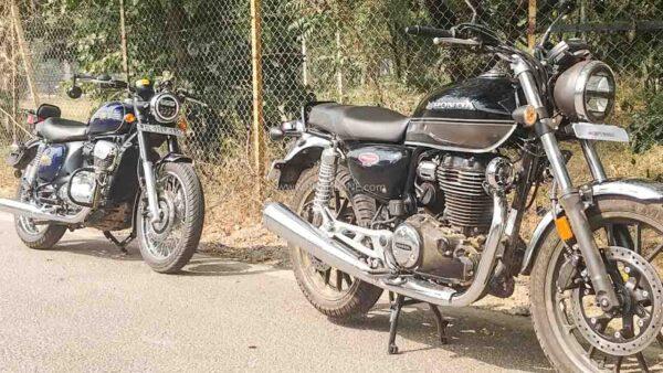 Honda CB350 vs Jawa