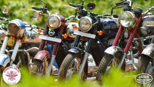 Jawa Motorcycles 50k Record