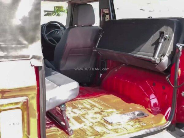 Mahindra Thar 6 Seater