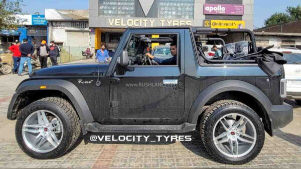 2020 Mahindra Thar Modified