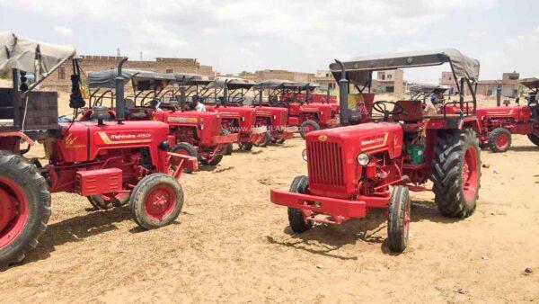 Mahindra Tractor Sales Oct 2020