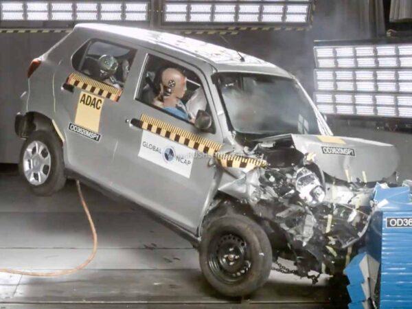 Maruti S-Presso Crash Test