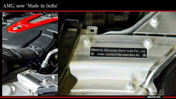 Mercedes AMG Made in India