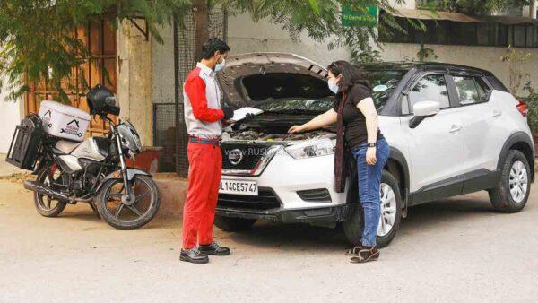 Nissan Doorstep Service