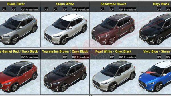 Nissan Magnite Colours