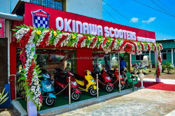Okinawa electric scooter exchange