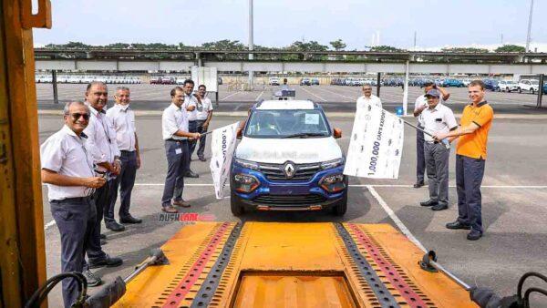 Renault Nissan 1 Million Car Exports