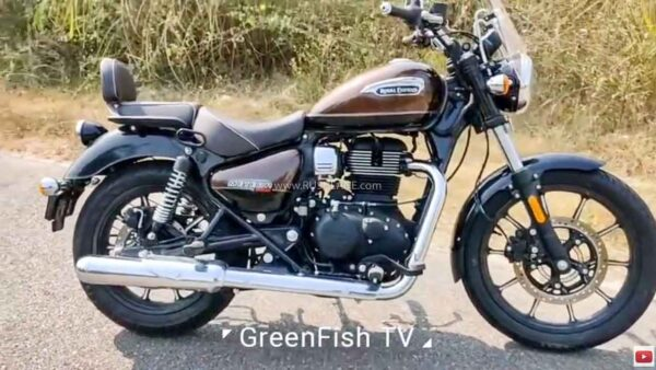 Royal Enfield Meteor 350 Exhaust Sound