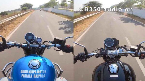 Meteor 350 vs CB350 Exhaust Note