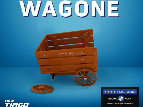Tata makes fun of Maruti WagonR