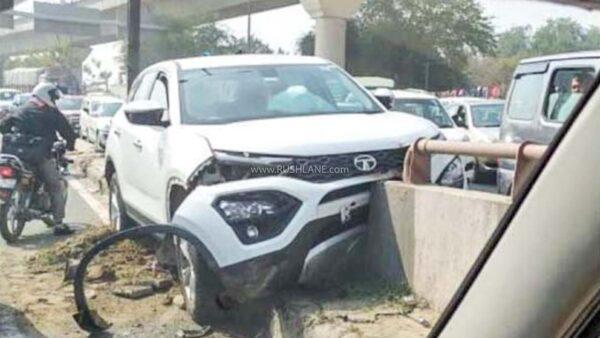 Tata Safari crash