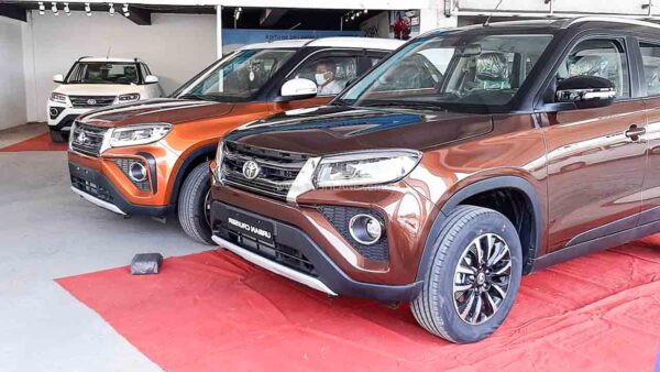 Toyota Urban Cruiser Sales