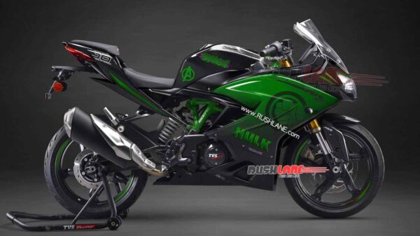 TVS Apache 310 Black Panther Edition