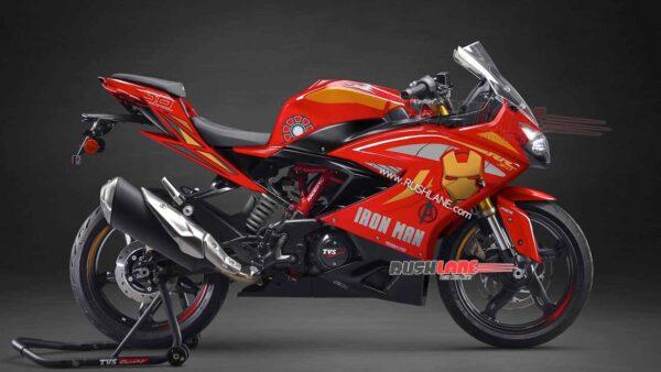 TVS Apache 310 Iron Man Edition