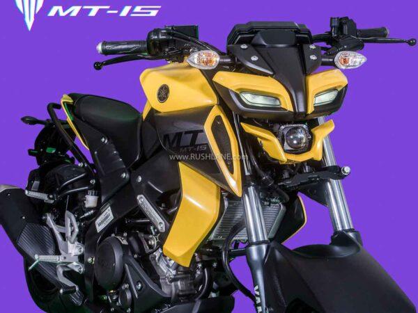Yamaha MT15 Custom