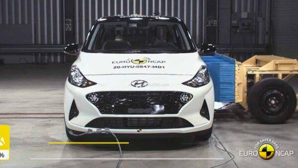 Hyundai i10 Crash Test - Euro NCAP