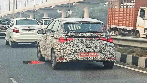 2020 Hyundai i20 Spied Testing Post Launch