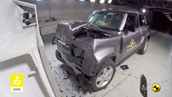 2020 Land Rover Defender Crash Test - EURO NCAP