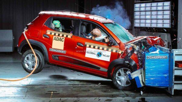 2020 Renault Kwid crash test