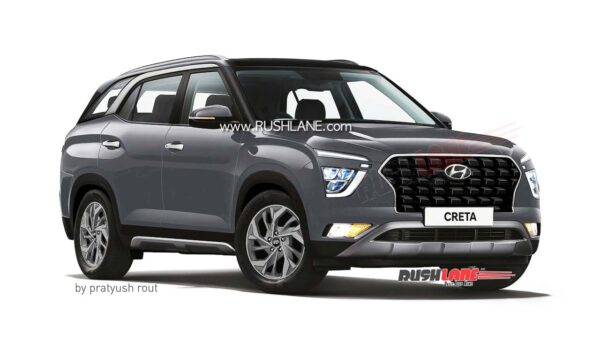 2021 Hyundai Creta 7 Seater Silver