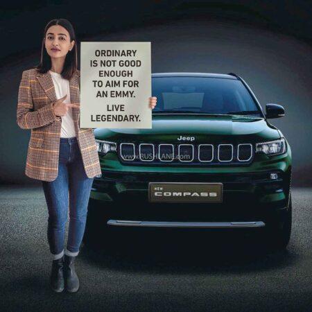 2021 Jeep Compass Facelift Teaser