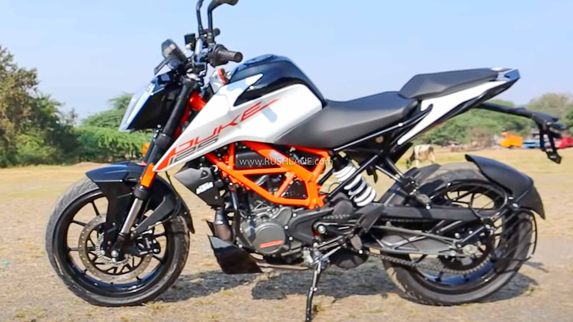 New Ktm Duke 125 Launch Price Rs 1 5 Lakh First Look Walkaround