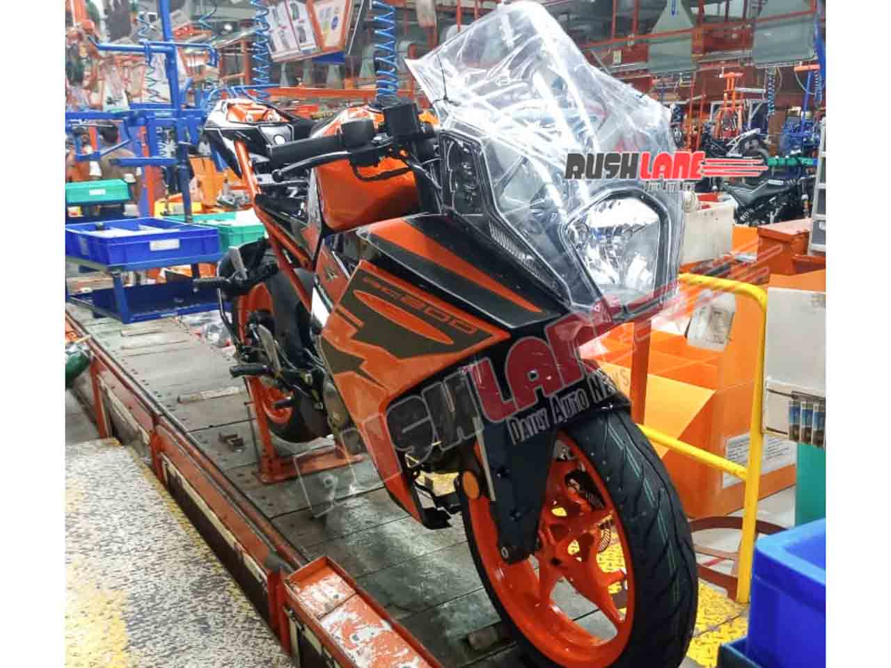 2021 Ktm Rc 200 Enters Production Spied Undisguised For First Time