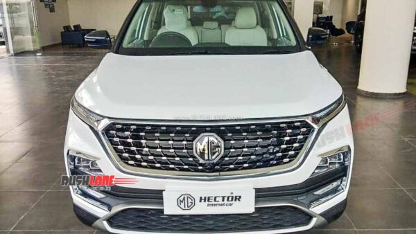 2021 MG Hector Facelift