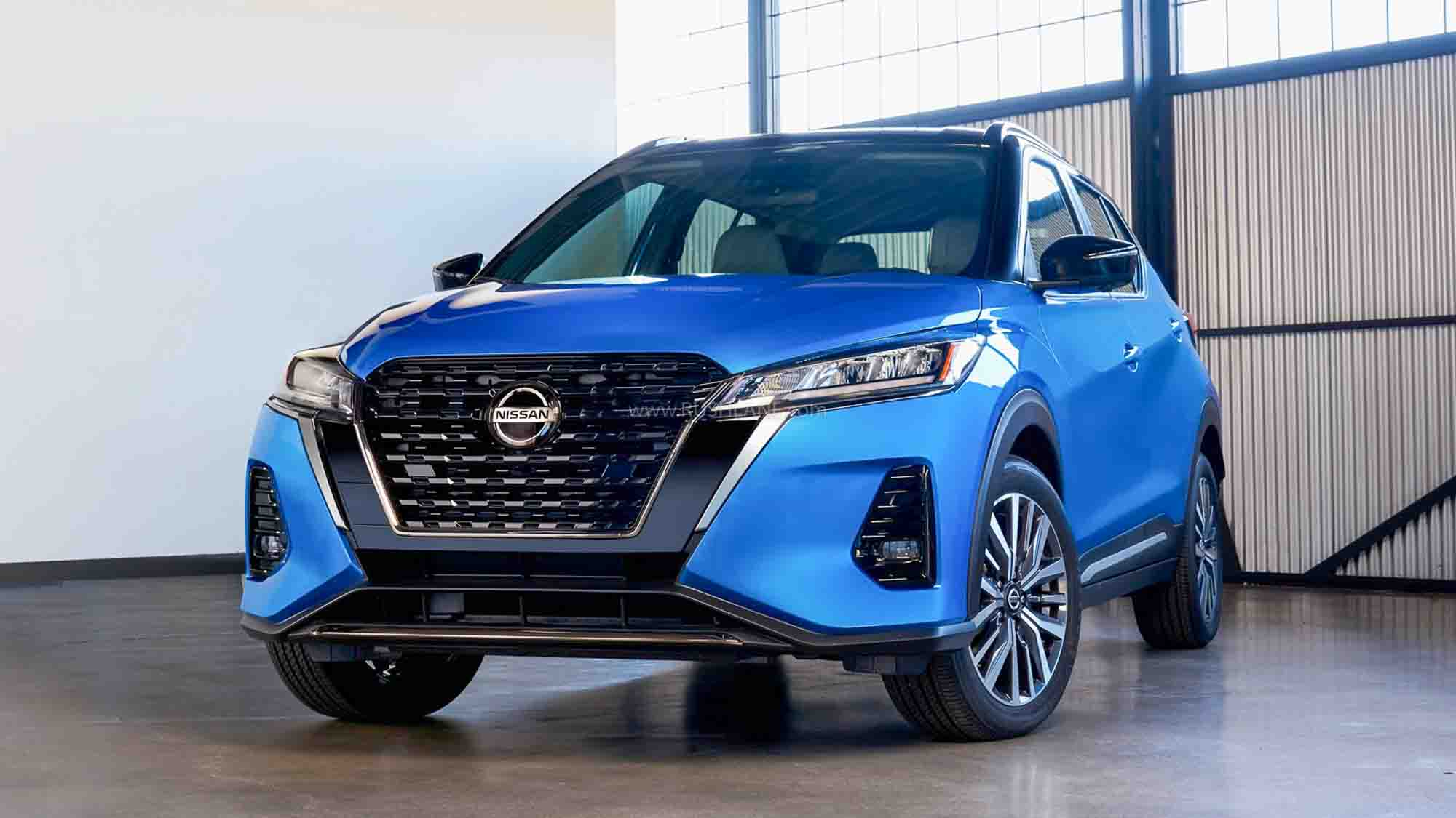 2021 nissan kicks facelift makes us debut - gets new 8