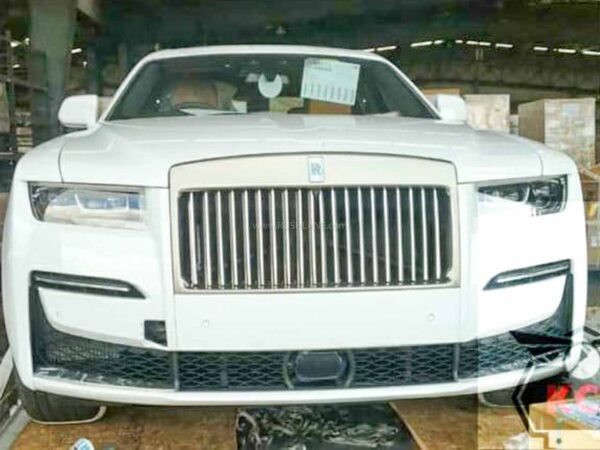 2021 Rolls Royce Ghost Arrives In India - First Unit Spied