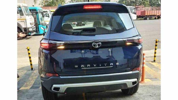 2021 Tata Gravitas SUV India Launch