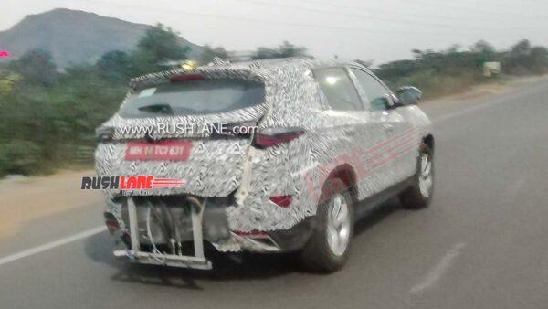 2021 Tata Harrier Petrol SUV Spied