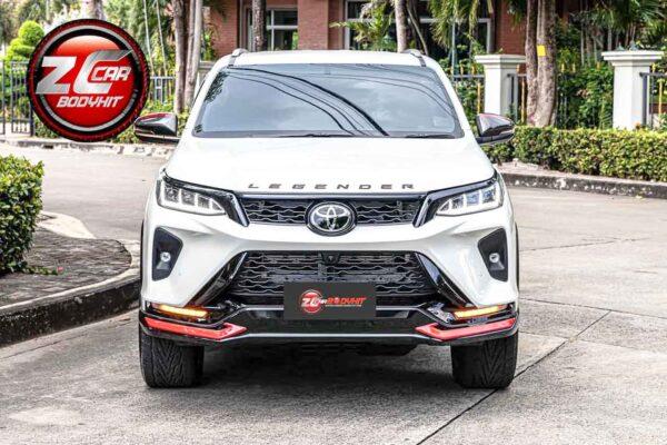 2021 Toyota Fortuner Legender Modified - Larger Alloys, Sporty Body Kit